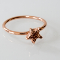 Rose gold brass