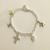 The World on the Moon Cross bracelet 1