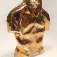 Torso Paperweight, Bronze