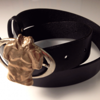 Torso Leather Belt